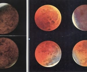 blood, eclipse, and lunar image