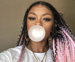 african american, bubblegum, and chic image