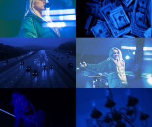 blue, cars, and Collage image