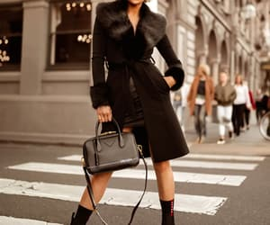 black, coat, and micah gianneli image