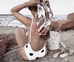 fashion, summer, and swimwear image