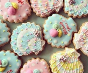 food, cute, and Cookies image