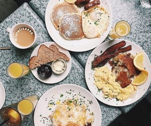 breakfast, food, and perfection image