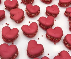 food, hearts, and dessert image