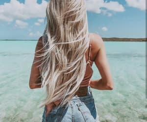 hairstyle and summer image