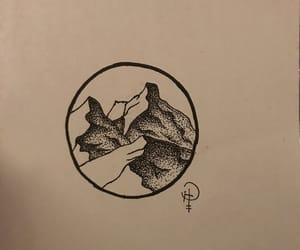 black and white, minimalismo, and dibujo image