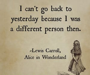 quote and alice in wonderland. image