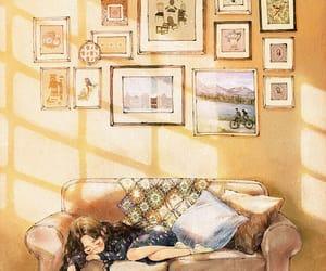 draw, sleep, and art image