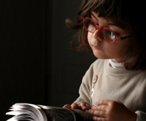 adorable, bookworm, and glasses image