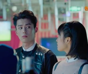 couple, meteor garden, and shen yue image
