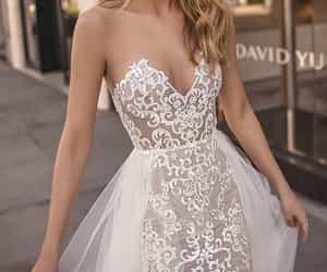 beautiful, wedding dress, and wedding dresses image