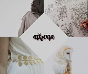 aesthetic, athena, and edit image
