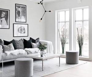 chandelier, light bulbs, and sofa image