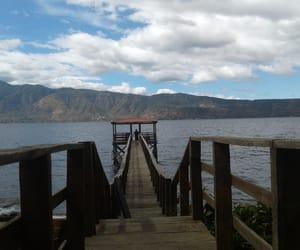 ca, el salvador, and lake image