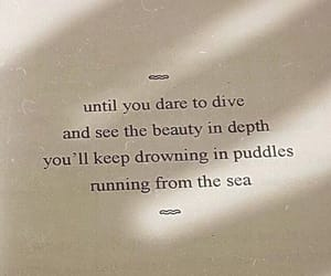 poetry, quote, and sea image