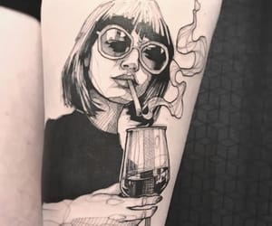 tattoo and cigarette image