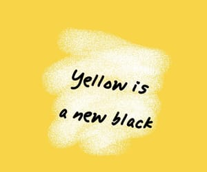 black, white, and yellow image
