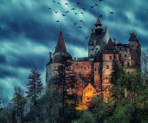 castle, night, and ghotic image