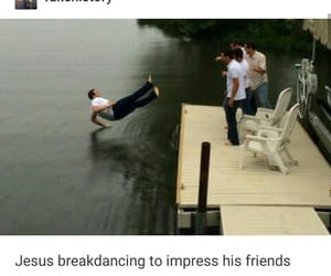 funny, jesus, and tumblr image