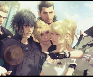 final fantasy, square enix, and gladiolus image