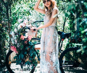 bike, inspiration, and bride image