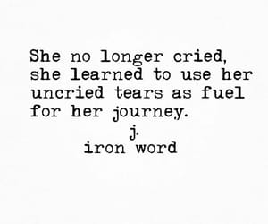journey, quotes, and woman image