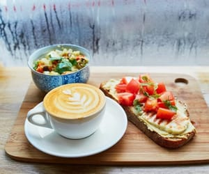 breakfast and coffee image
