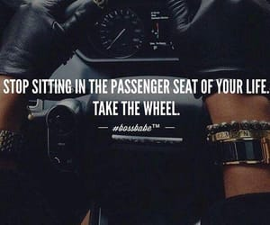 quotes, bossbabe, and car image