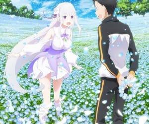 anime girl, kawaii, and subaru image