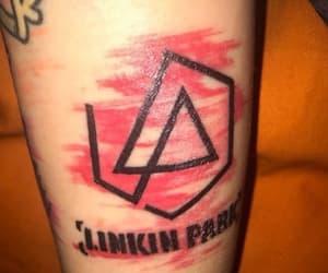 tattoo, chester bennington, and linkin park tattoo image