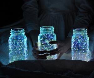 blue, hahahaha, and hands image