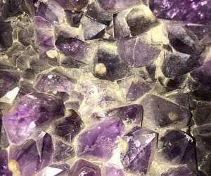 cristals and purple image