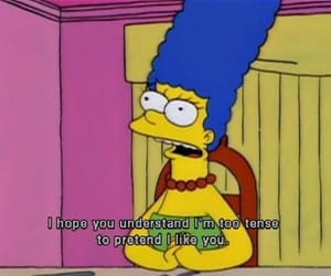the simpsons, marge, and funny image