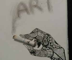 art, draw, and beauty image