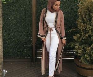 abaya hijab style and marziyeesarp image