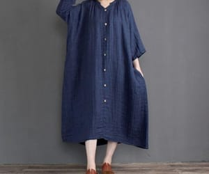 long dress, maternity dress, and linen dresses image
