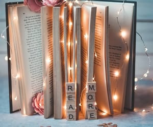 book, inspiration, and lights image
