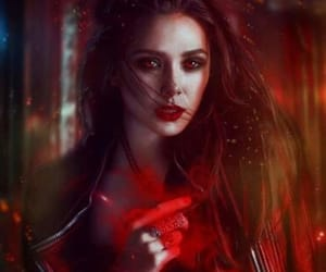 elizabeth olsen, Marvel, and scarlet witch image