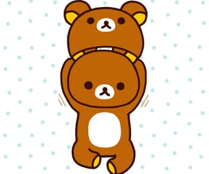 bear, costume, and dots image