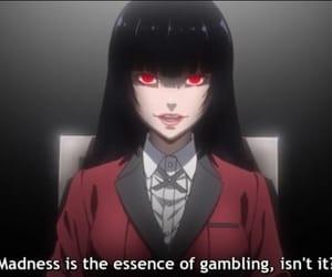 anime, girl, and yumeko image