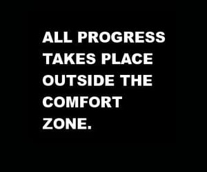 outside, progress, and quotes image