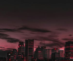city, wallpaper, and pink image