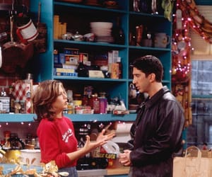 90s, rachel green, and ross geller image