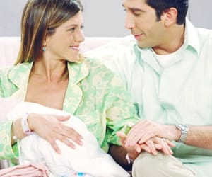 rachel green, ross geller, and friends image