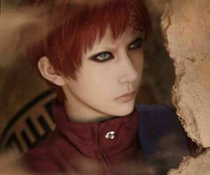 gaara no sabaku and gaara do deserto image