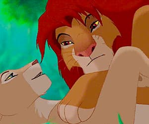disney, movie, and the lion king image