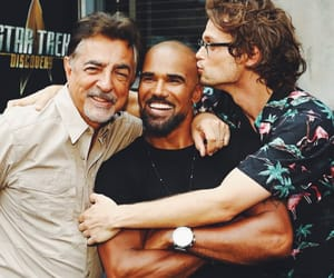 criminal minds, spencer reid, and derek morgan image