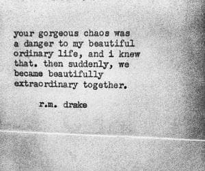 love, quotes, and chaos image