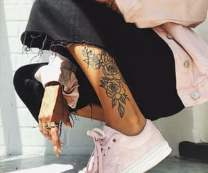 aesthetic, nails, and shoes image