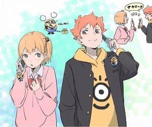 haikyuu, karasuno, and yachi image